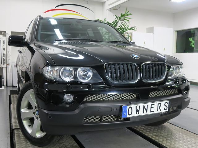 BMW X5 3.0i スポーツパッケージ 黒革 ディーラー整備記...