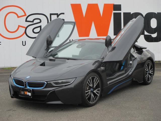 bmw i8 base grade 2015 gray 2 000 km details japanese used cars goo net exchange. Black Bedroom Furniture Sets. Home Design Ideas