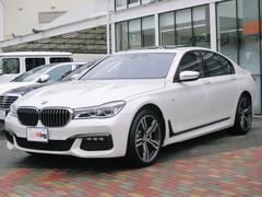 BMW750i Mスポーツ BMWレーザーライト 20AW 黒革
