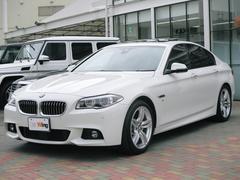 BMW535i Mスポーツ サンルーフ アダプティブLED 黒革