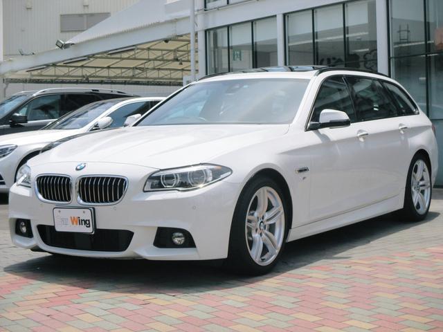 BMW 5シリーズ 535iツーリング Mスポーツ OPパノラマサ...