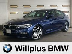 BMW523d Mスポーツ デモカー禁煙 黒革シートヘッドアップD