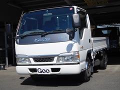エルフトラック2t積載 全低床 ワンオーナー フロアAT