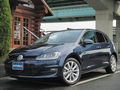 VW ゴルフTSIハイラインブルーモーションテクノロジー1オーナーETC