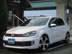 VW ゴルフGTIDCCPKG 前席パワーシートレザーシート禁煙車