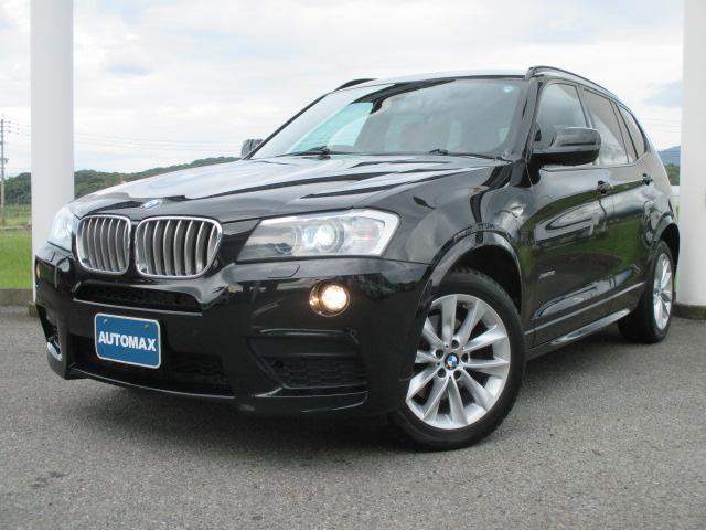 BMW X3 xDrive 35i Mスポーツパッケージ赤レザーシ...
