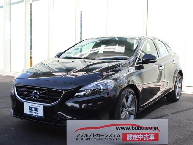 ボルボ V40 T4 SE 黒革シート シートヒーター HDDナビ...