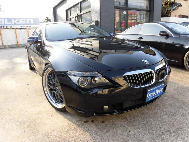 BMW 6シリーズ 650i 車高...