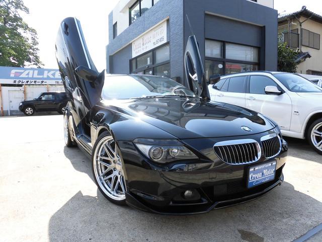 BMW 6シリーズ 650i ガルウイング仕様 21インチAW 地...