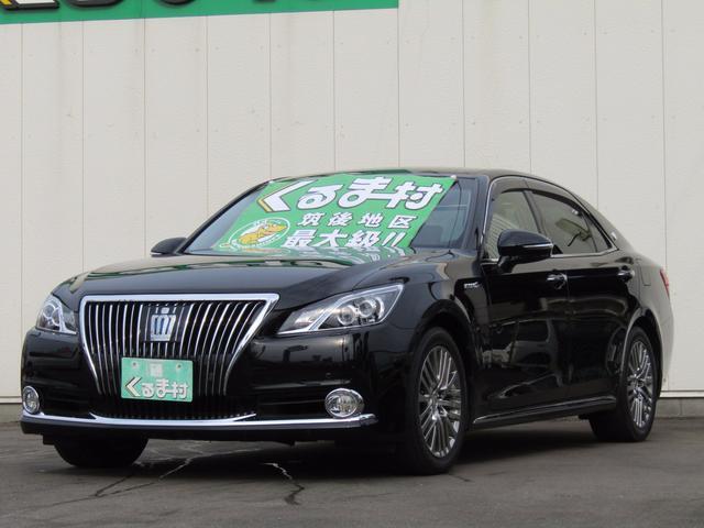 トヨタ Fバージョン 黒革エアシート HDDマルチ プリクラッシュ