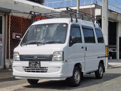 サンバーバンVB 4WD 5速マニュアル車