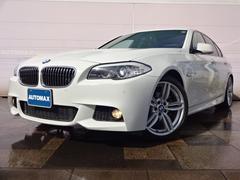 BMW523i Mスポーツパッケージレザーシートガラスサンルーフ