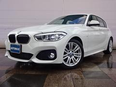 BMW118d Mスポーツデモカー登録車禁煙車純正HDDナビ