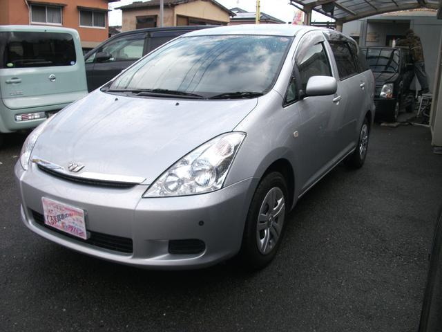 トヨタ ウィッシュ X ナビ CD 電格ミラー (車検整備付)