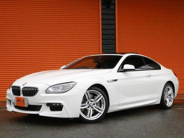 BMW 6シリーズ 640iクーペMスポーツPG右HD車HDDナビ...
