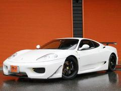 フェラーリ 360モデナ 正規D車MT6速黒革SエアロMS−Rマフラ