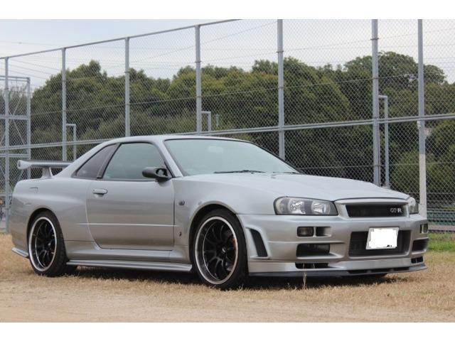 日産 GT-R Vスペック 4WD 6速MT ローダウン 禁煙車