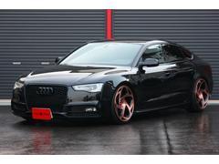 アウディ S5スポーツバックD車左H 2013モデル バング&オルフセン 黒×茶革シート