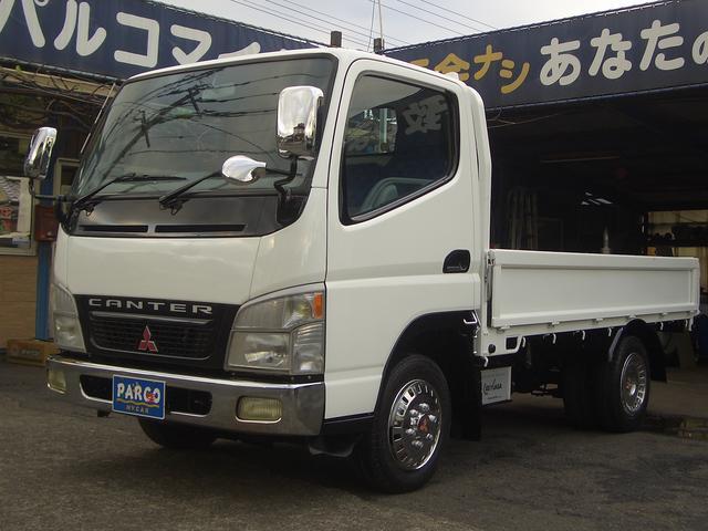 三菱ふそう キャンター 1.5トン全低床4WD (なし)