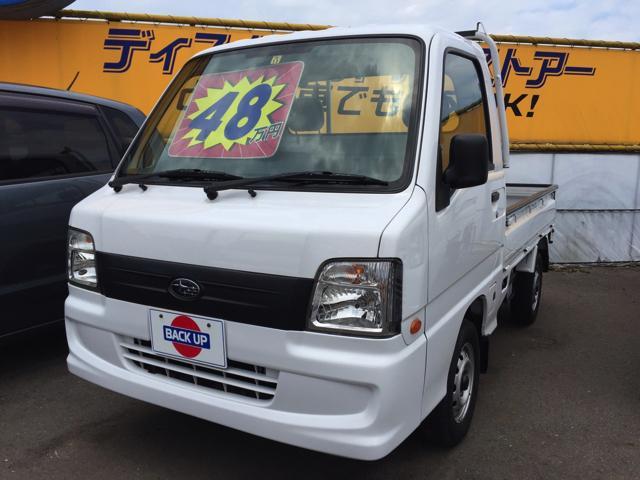 スバル サンバートラック 5速MT 4WD エアコン パワステ (...