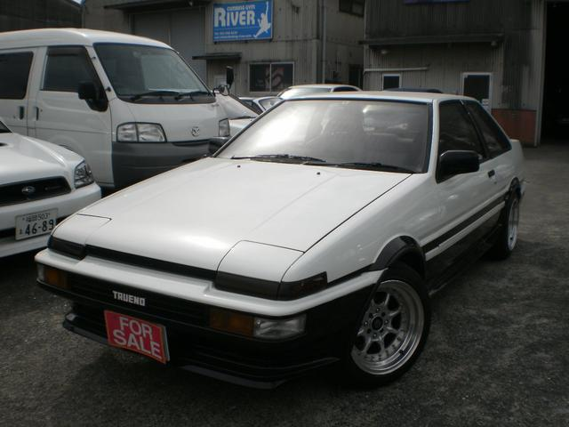 トヨタ GT APEX レカロ フジツボエキマニマフラー 15アルミ
