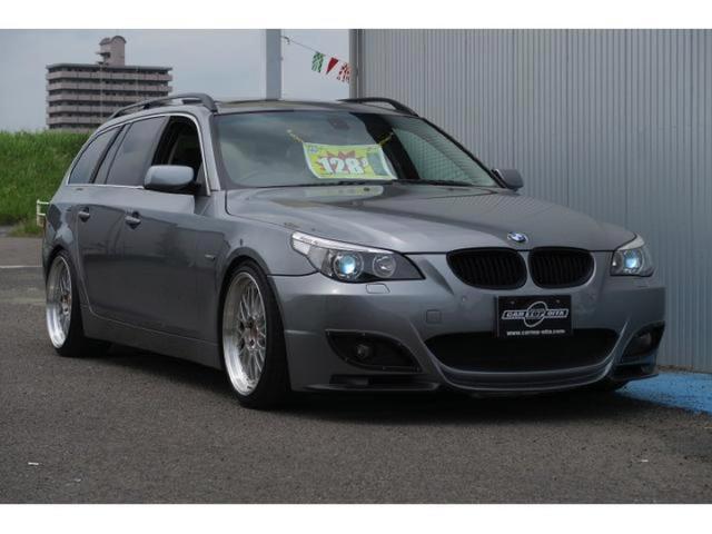 BMW 5シリーズ 525iツーリング 本革パワーシート サンルー...