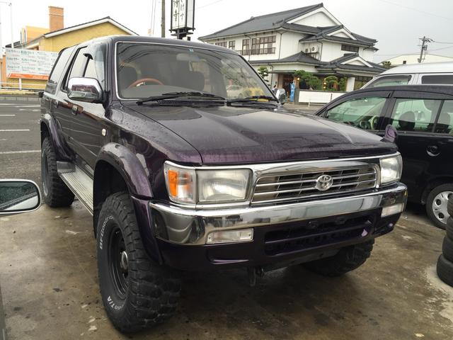 toyota hilux surf ssr 1994 purple 224 600 km. Black Bedroom Furniture Sets. Home Design Ideas