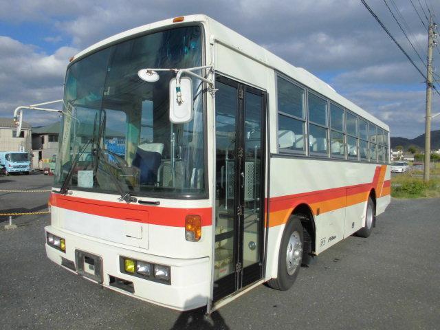 UDトラックス 中型バス 52人乗り 52席 自動ドア
