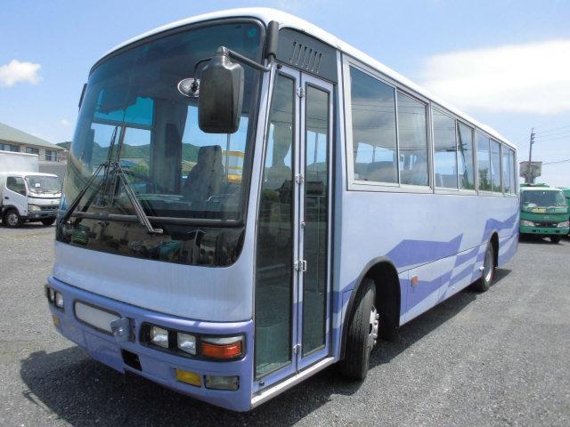 中型バス 46席 51人乗り 自動ドア モケットシート
