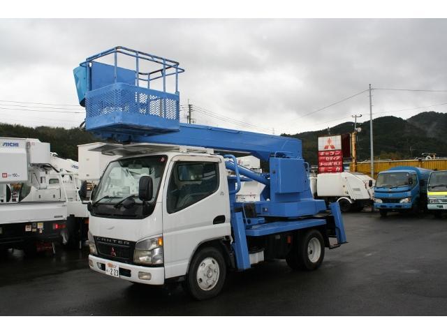 三菱ふそう キャンター アイチ高所作業車SS12A (検30.6)