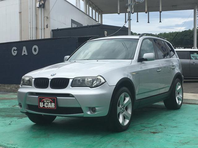 BMW X3 2.5i (検31.6)
