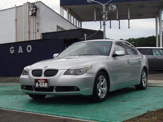 BMW 5シリーズ 525i レザーシート (車検整備付)