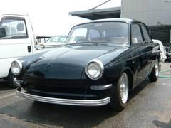 VW タイプIIIノッチバック フロントドア1枚ガラス エンジンオーバーホール