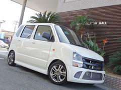 ワゴンRFX 車高調 14インチアルミ ワンオフバンパー