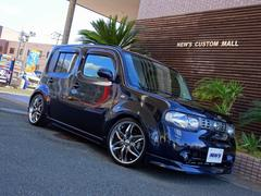 キューブ15X インディゴ+プラズマ ワンオーナー カスタム車両