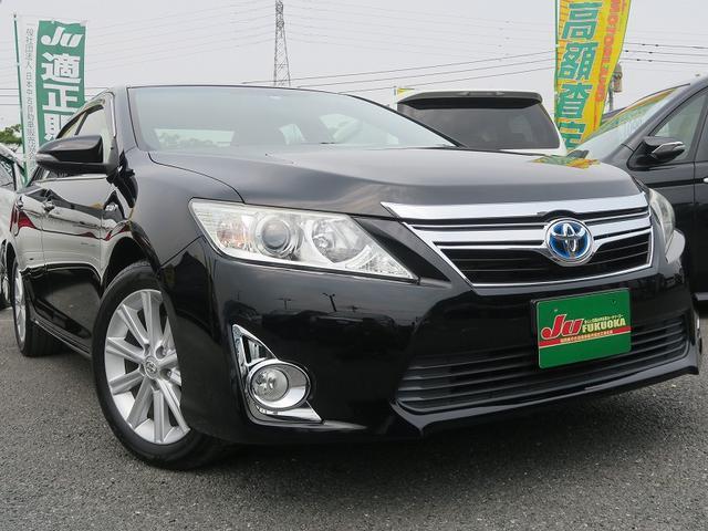 トヨタ HV-Gパッケージ地デナビスマ-トキ-HIDライト純正アルミ