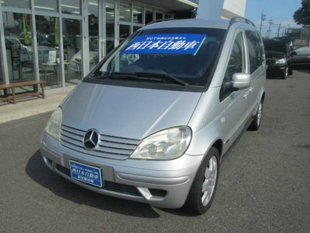 mercedes benz vaneo 1 9 ambiente 2007 silver 63 000 km details japanese used cars goo. Black Bedroom Furniture Sets. Home Design Ideas