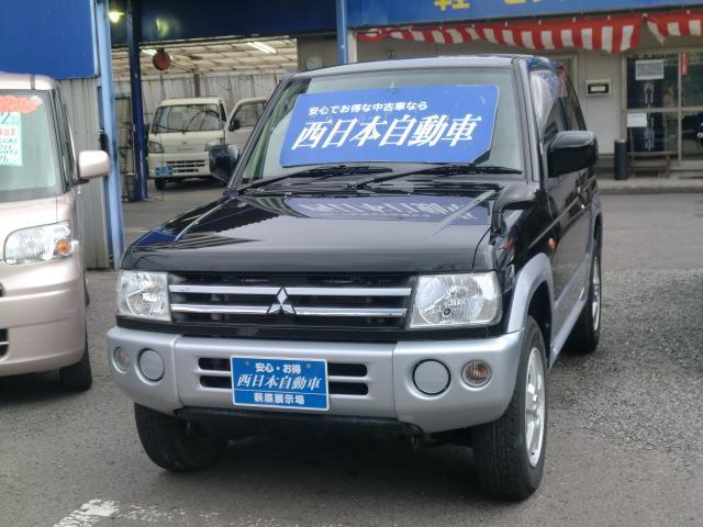 三菱 パジェロミニ XR 純正CDオーディオ 車検2年付 (車検整備付)