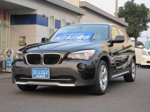 bmw x1 s drive 18i 2011 black 35 000 km details. Black Bedroom Furniture Sets. Home Design Ideas