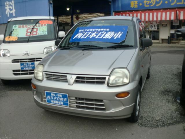 三菱 ミニカ ライラ エアコン パワステ (車検整備付)