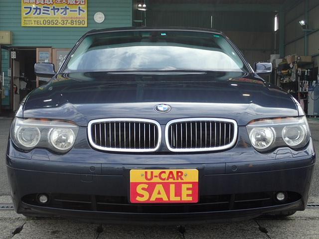 BMW 7シリーズ 745i サンルーフ シートエアコン レインセ...