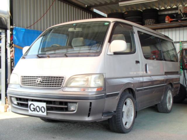 トヨタ スーパーカスタムG トリプルムーンルーフ 社外17アルミ
