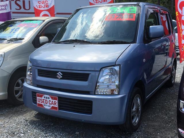 スズキ ワゴンR FX CDデッキ ベンチシート 社外アルミ (車...