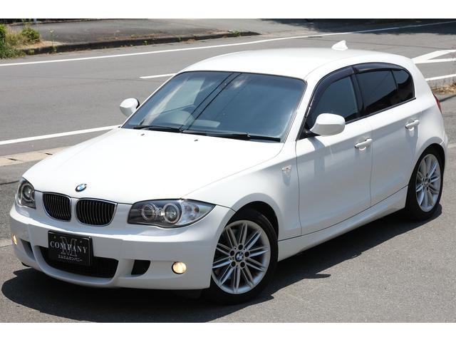 BMW 1シリーズ 130iMスポーツHDDナビ黒革ビルトインET...