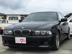 BMW525iMスポーツ 左ハンドル ディーラー車 ETC