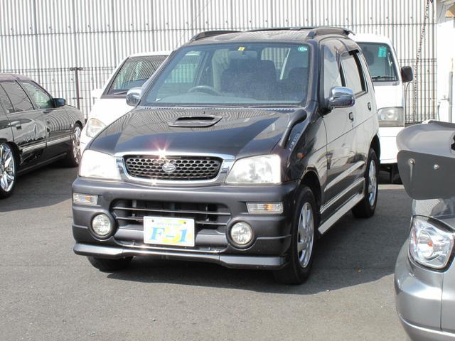 ダイハツ テリオスキッド エアロダウン 4WD 背面タイヤ CD ...