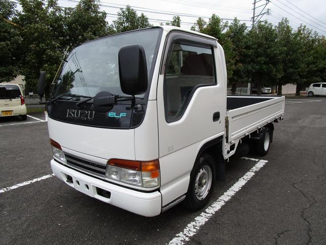 いすゞ エルフトラック フラットロー (なし)