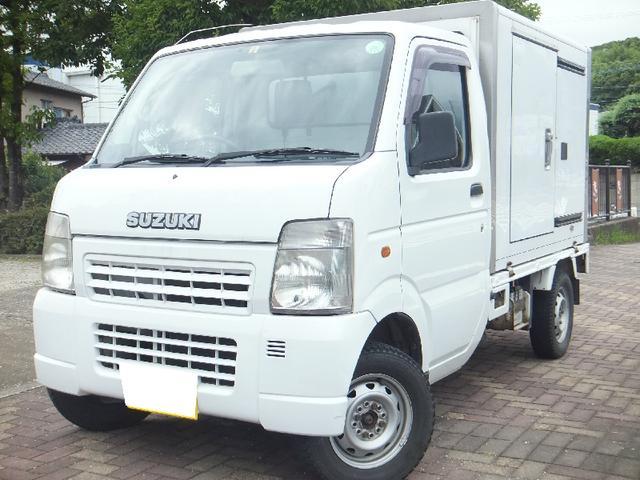 スズキ 4WD 冷蔵冷凍 -5度