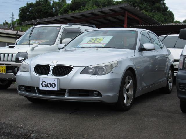 BMW 5シリーズ 530i ナビ CD キーレス サンルーフ シ...