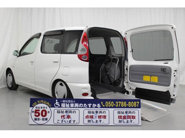 トヨタ ファンカーゴ 福祉車両 スロープタイプ 5人乗 (検31.2)